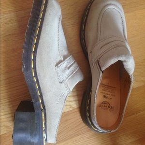 Dr Marten Loafers with a Small Heel